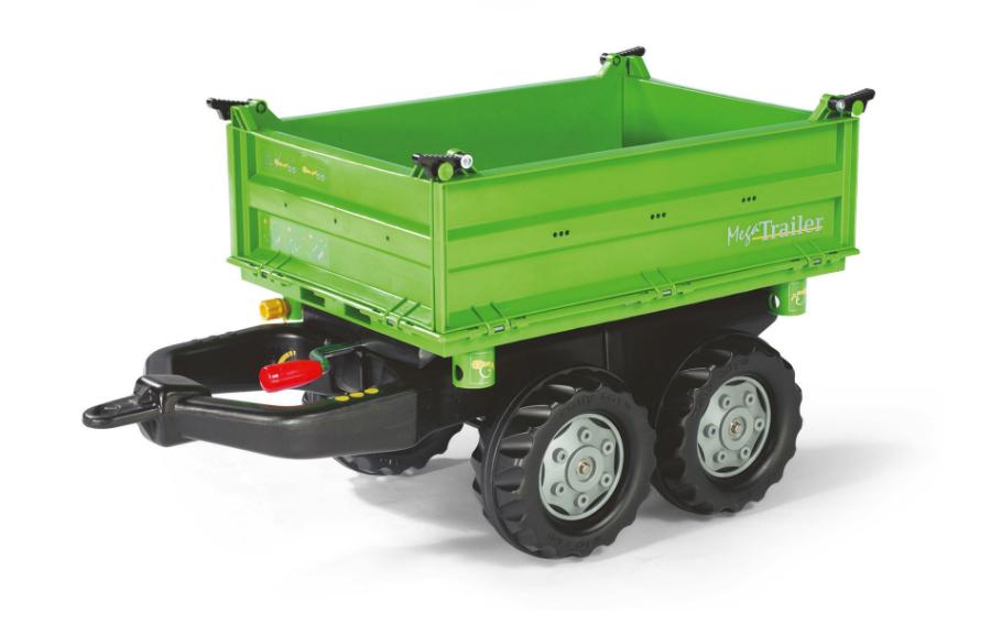 Släpvagn rollyMega Trailer Grön