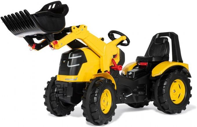 Tramptraktor rolly X-trac Premium CAT Yello Lastare