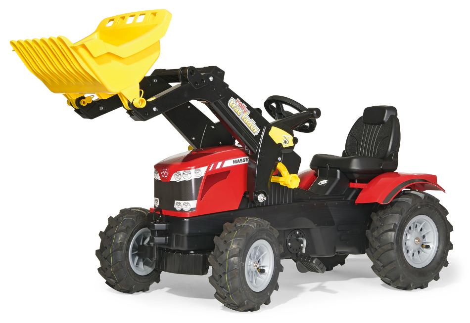 Tramptraktor rollyFarmtrac Massey Ferguson Lastare lufthjul