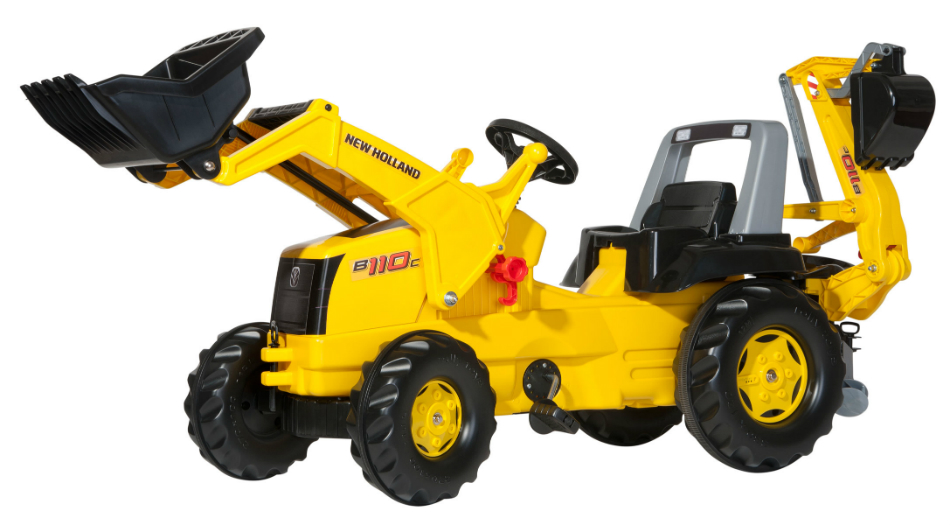 Tramptraktor rollyJunior New Holland Construction