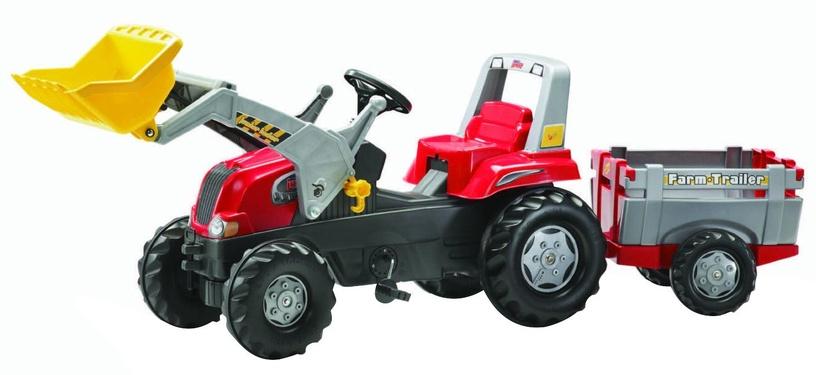 Tramptraktor Rolly Junior Traktor med släp