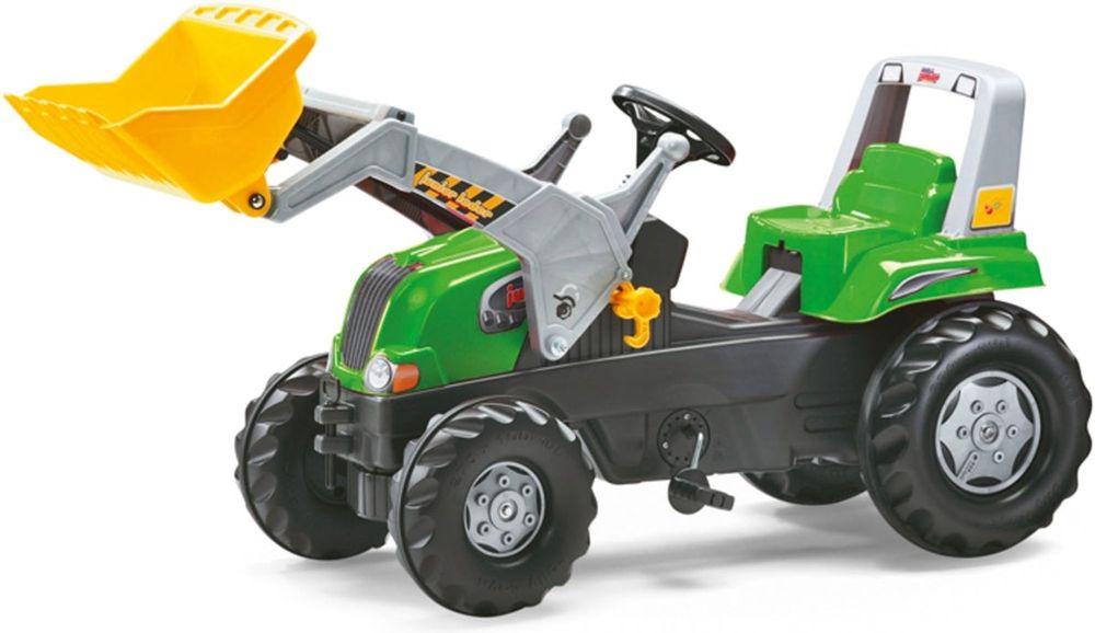 Tramptraktor Rolly Toys Junior med frontlastare