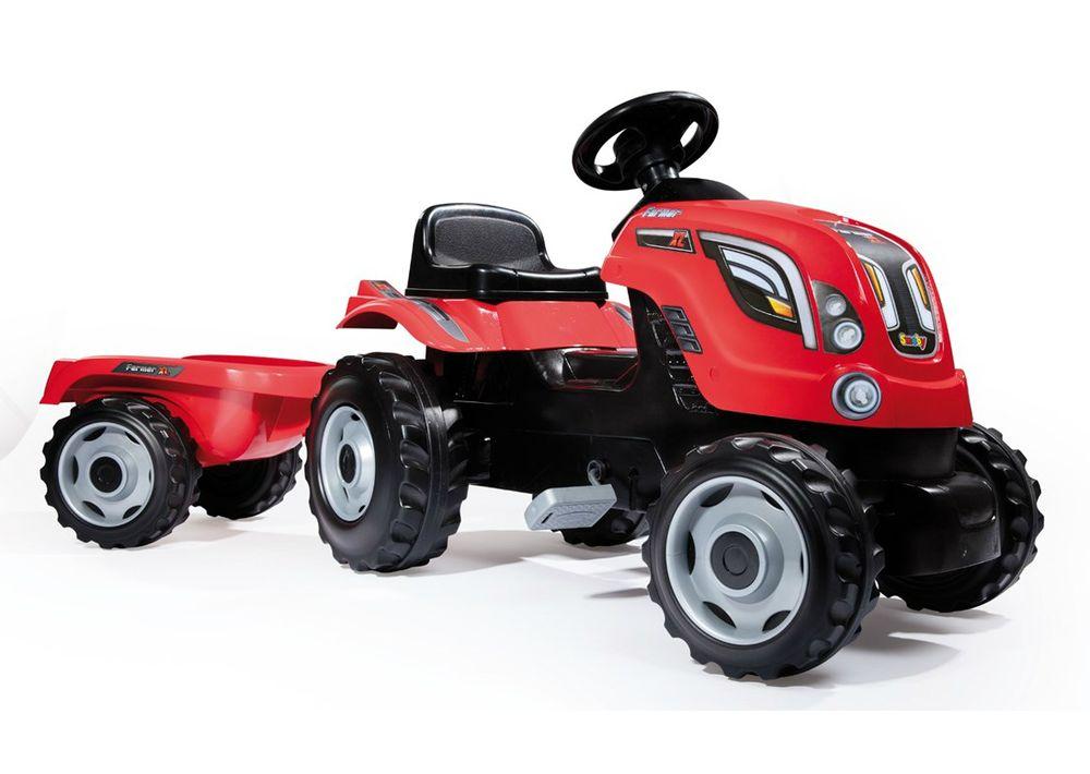 Tramptraktor Smoby Farmer XL Röd